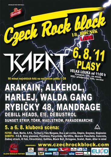 Czech Rock Block 2011