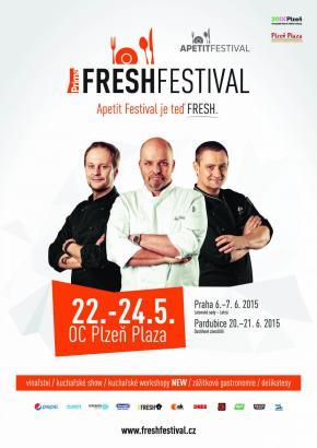 Apetit Festival hl�s� n�vrat do Plzn�: Nyn� s nov�m n�zvem FRESH Festival. Ochutn�te i had� maso